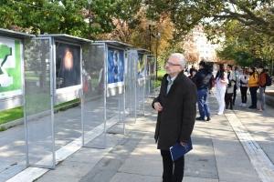 Росен Иванов беше официален гост при откриването на изложба, посветена на донорството - 2019