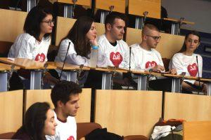 """Асоциацията на студентите-медици в България се включи в кампанията """"Да! За живот!"""""""