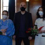 Изпълнителният директор на ИАМН връчи плакети на координаторите по донорство във Велико Търново