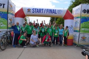 Nearly 40 people – transplanted patients and like-minded people of the cause in support of donation participated in the Mountain Ultramarathon and Cycling' Vitosha 100 km